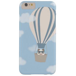 De Panda van Hipster op de Ballon van de Hete Barely There iPhone 6 Plus Hoesje