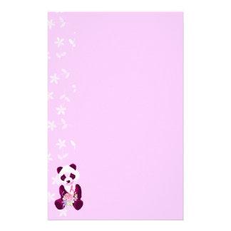 De Panda van Kanker van de borst draagt Briefpapier