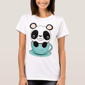 De Panda van Kawaii in een Theekopje T Shirt