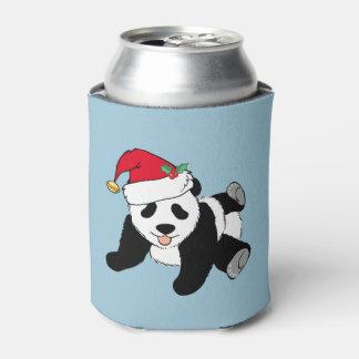 De Panda van Kerstmis Blikjeskoeler