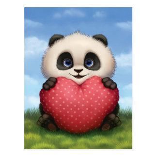 De Panda van Valentijn Briefkaart