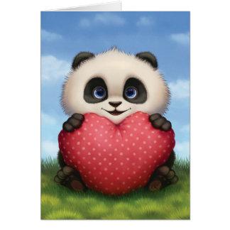 De Panda van Valentijn Briefkaarten 0