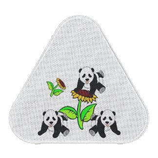 De Panda's van de zonnebloem Bluetooth Speaker