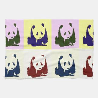 De Panda's van het Baby van het pop-art Theedoek