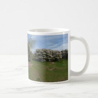 De panoramische Bloesem van de Rozijn met de Mok