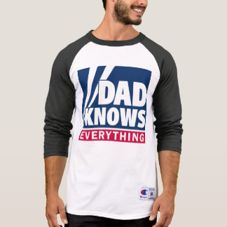 De papa kent alles T-shirt
