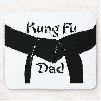 De Papa van de Kungfu van het Zwarte band van Muismat