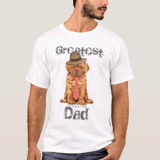 De Papa van Dogue DE Bordeaux T Shirt