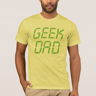 De Papa van Geek T Shirt