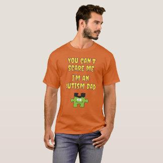 De Papa van het Autisme van Halloween u kan niet T Shirt