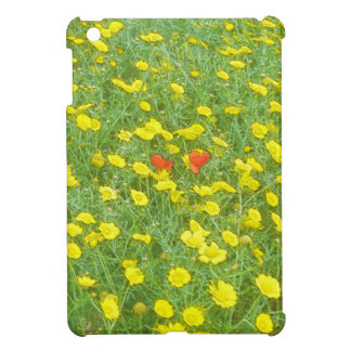 De papavers van de waterverf iPad mini cases
