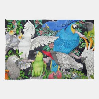 De Papegaaien van het huisdier van de Handdoek van