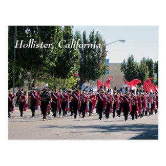De Parade van Homecoming van de Middelbare school Briefkaart