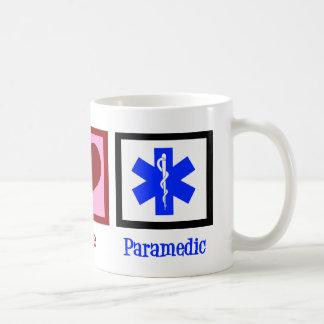 De Paramedicus van de Liefde van de vrede Koffiemok