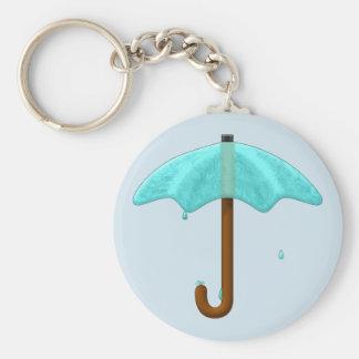 De Paraplu van het water - keychain Sleutelhanger