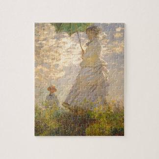 De Paraplu van //van de Promenade van La van Claud Legpuzzel