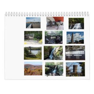 De Parken van de Staat van Connecticut Kalender