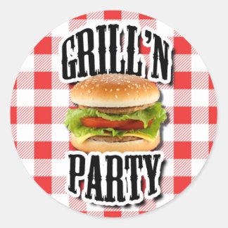 De Partij Cookout van de zomer nodigt de Stickers