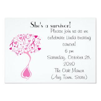 De Partij/Fundraiser van de Overlevende van Kanker Kaart
