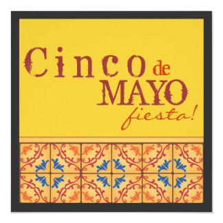 De Partij van Cinco DE Mayo! De gelukkige Kaart