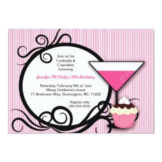 De Partij van Cupcakes & van de Verjaardag van Kaart