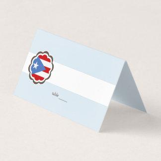 De Partij van de bloem, de Vlag van het Puerto Plaatskaart