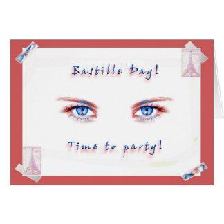 De Partij van de Dag van Bastille! Briefkaarten 0