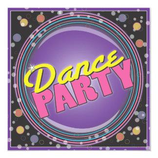 De Partij van de dans! De Uitnodiging van de