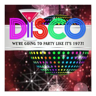 De Partij van de Disco van de Bal van de Spiegel Kaart