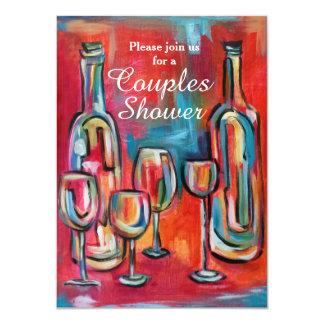 De Partij van de Douche van het Huwelijk van de 11,4x15,9 Uitnodiging Kaart