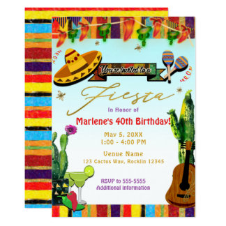 De Partij van de Fiesta van Cinco DE Mayo van de Kaart