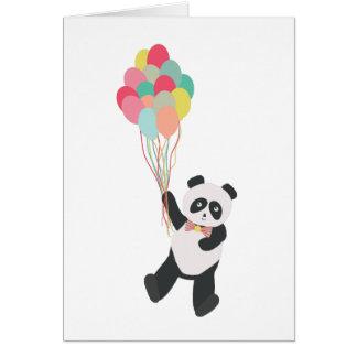 De Partij van de panda - de Panda van de Kaart