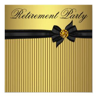 De Partij van de Pensionering van de elegante Kaart