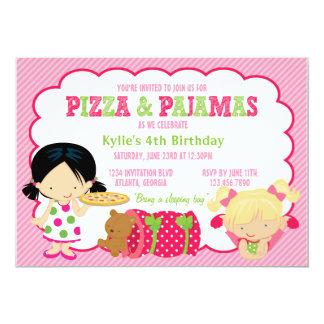 De Partij van de pizza en van Sleepover van Kaart