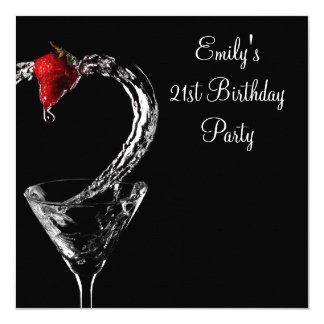 De Partij van de Verjaardag van de Cocktail van Kaart
