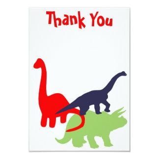 De Partij van de Verjaardag van de dinosaurus 8,9x12,7 Uitnodiging Kaart