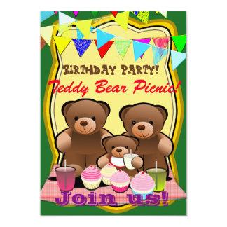 De Partij van de Verjaardag van de Picknick van de Kaart