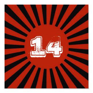 De Partij van de Verjaardag van de rode, Witte Kaart
