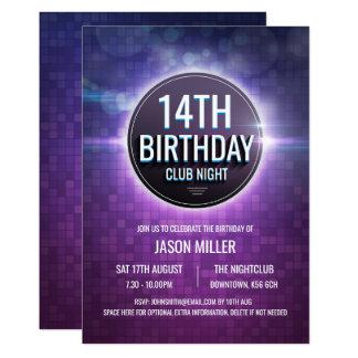 De Partij van de Verjaardag van de Tiener van de Kaart