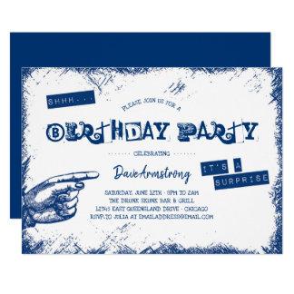 De Partij van de Verjaardag van de Verrassing van Kaart