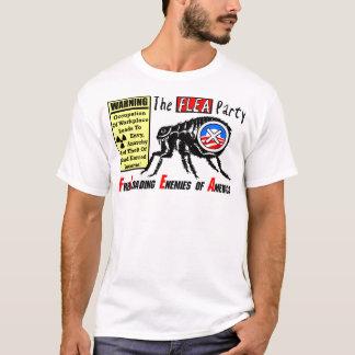 De partij van de Vlo: Bezet Wall Street T Shirt