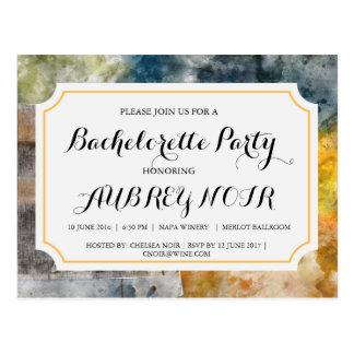 De Partij van de vrijgezellin voor het Huwelijk Briefkaart