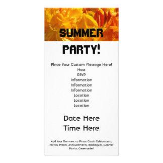 De Partij van de zomer! BBQ van de Picknicks van Kaart