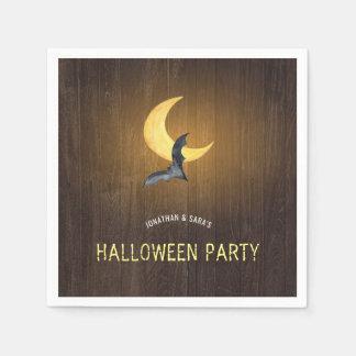 De Partij van Halloween, de Knuppel van de Wegwerp Servet