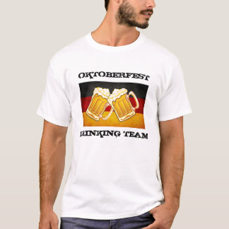 De Partij van het Bier van Oktoberfest - Duitsland T Shirt