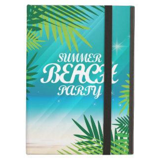 De Partij van het Strand van de zomer