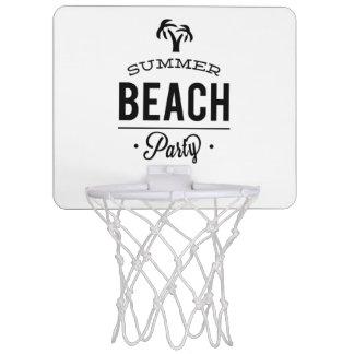 De Partij van het Strand van de zomer Mini Basketbalbord