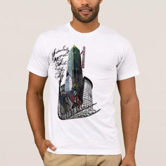 De Partij van het westen denkt ik Vlieg ben T Shirt