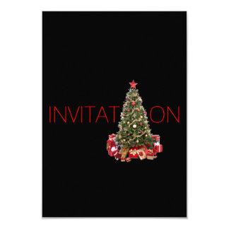 De Partij van Kerstmis van de uitnodiging