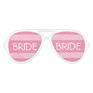 De partijschaduwen van de bruid voor feestbril